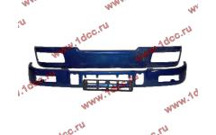 Бампер C синий верхний+нижний (в сборе) фото Владивосток